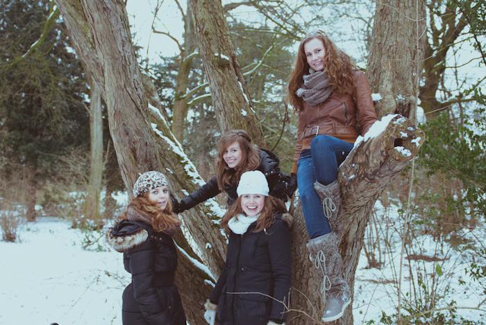 Creatieve Familiefoto's