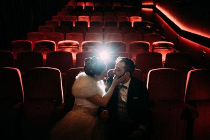 trouwen in de bioscoop