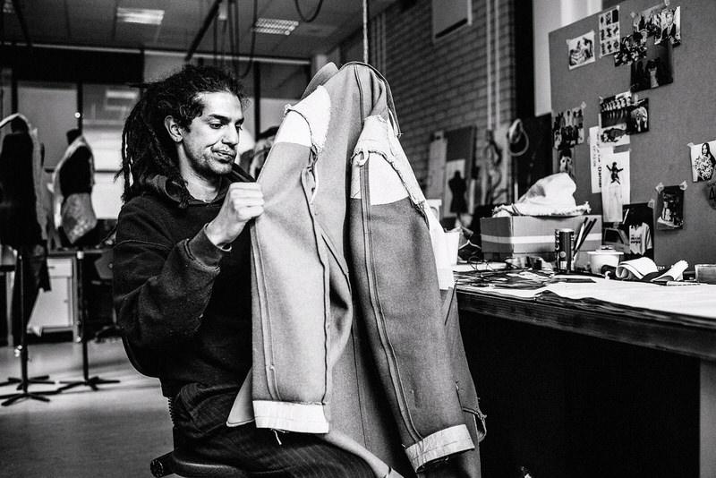 editorial fotografie utrecht modeontwerper Armia Yousefi