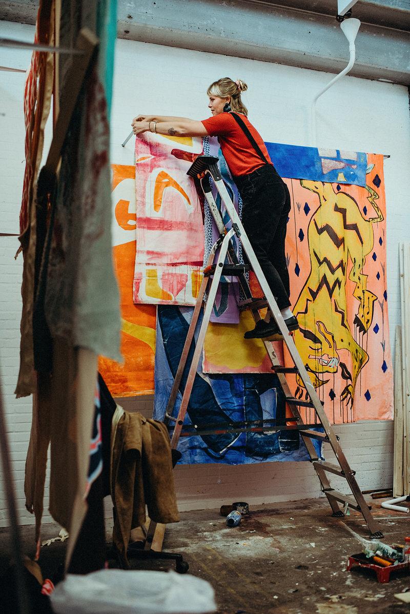 editorial fotografie utrecht schilder Lisette van Hoogenhuyze