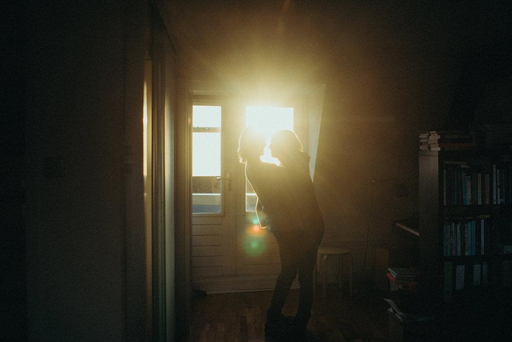 liefde fotoshoot in huis