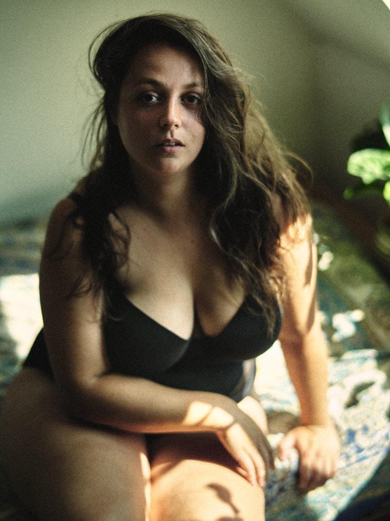 intiem portret plussize boudoir lingerie